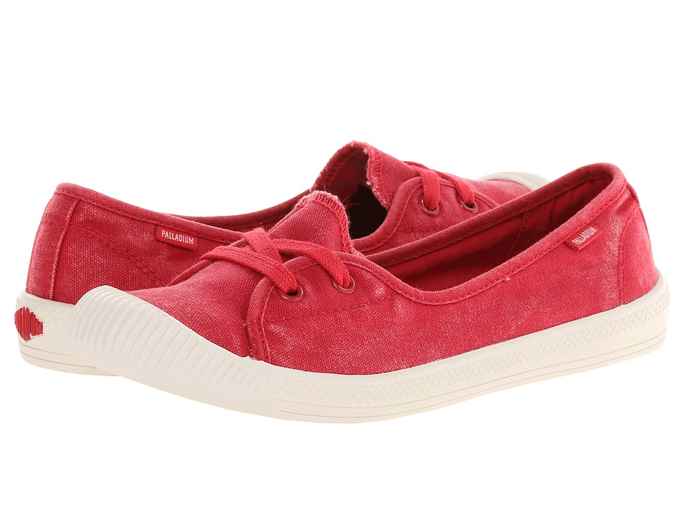 Palladium - Flex Ballet (Red/Marshmallow) Women's Shoes