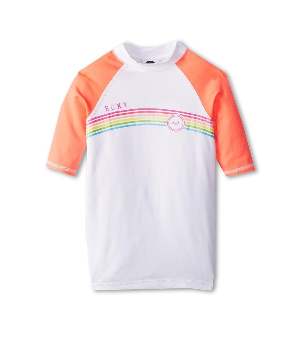 Roxy Kids From Above S/S Surf Shirt Girls Swimwear (Pink)
