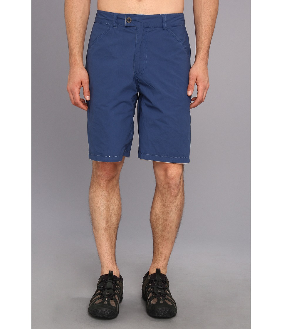 Life is good - Versa Short (Darkest Blue/Light Nutty Brown Stripe) Men