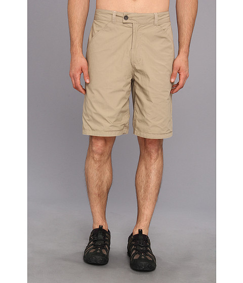 Life is good - Versa Short (Light Nutty Brown/Putty White Plaid) Men's Shorts