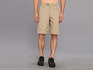 Life is good Versa Short (Light Nutty Brown/Putty White Plaid)