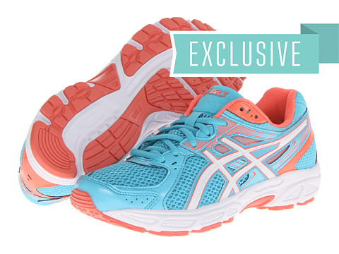 ASICS - GEL-Contend 2 (Light Blue/White/Coral) Women
