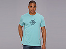 Life is good Stamped Ship's Wheel Crusher Tee