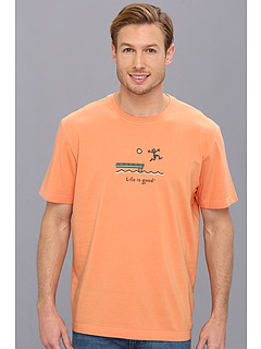 SALE! $16.99 - Save $9 on Life is good Dock Jump Crusher Tee (Juicy Orange) Apparel - 34.65% OFF $26.00