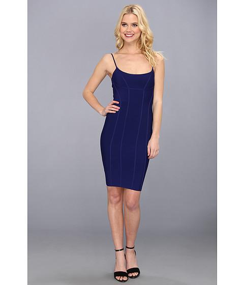 BCBGMAXAZRIA - Knit Sweater Dress (Orient Blue) Women's Dress