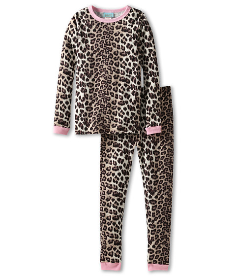 BedHead Kids - Snug Fit L/S Classic PJ (Toddler/Little Kids) (Wild Kingdom) Girl's Pajama Sets