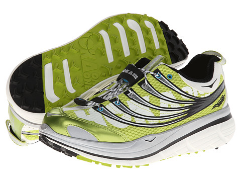 Hoka One One - Kailua Trail (Lime/Silver/White 1) Women's Running Shoes