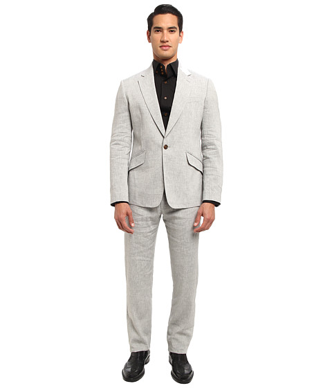 Vivienne Westwood MAN - Summer Linen Suit (Grey) Men's Suits Sets