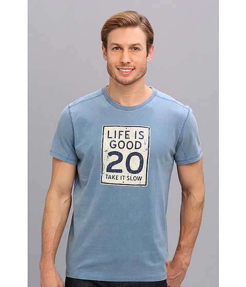 Life is good - Top Notch Tee (Extra Blue 2) Men