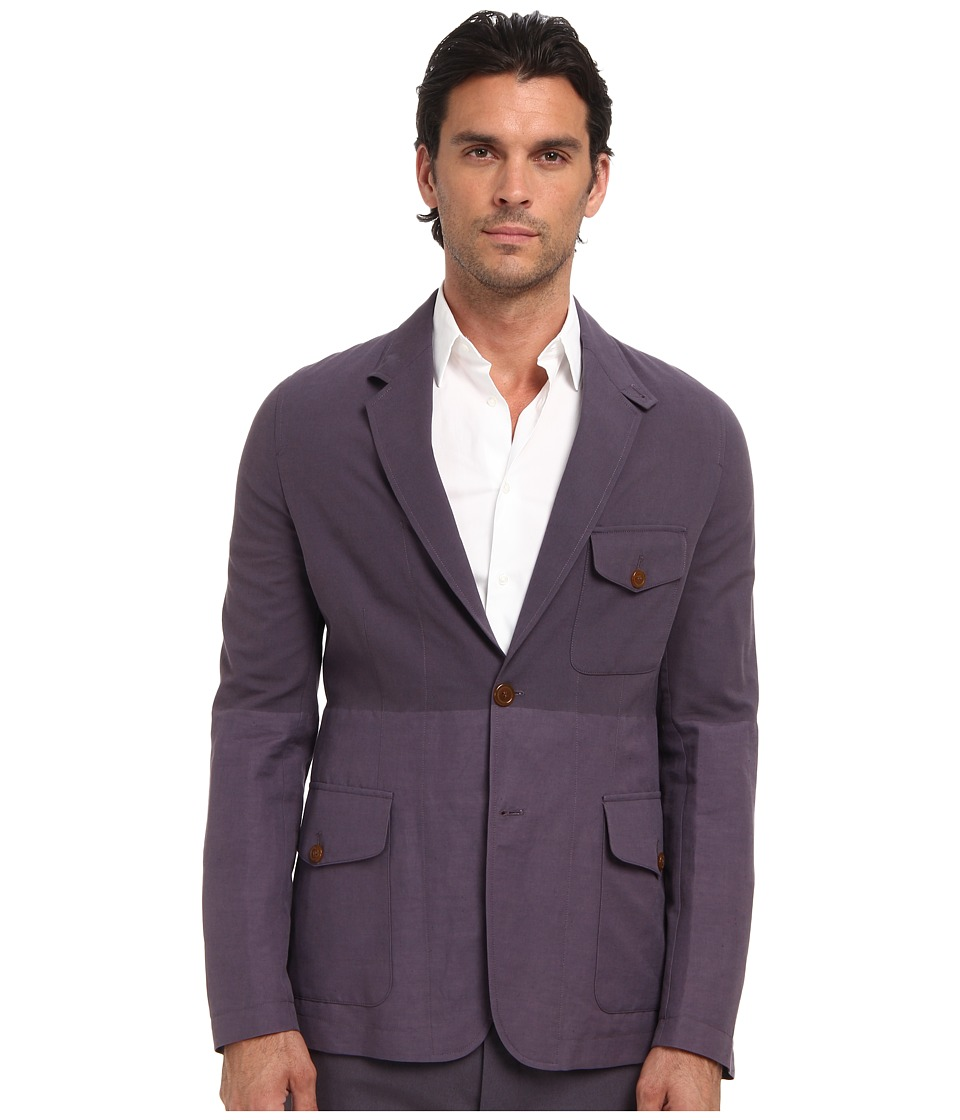 Vivienne Westwood MAN - Weighted Weave Blazer (Plum) Men's Jacket