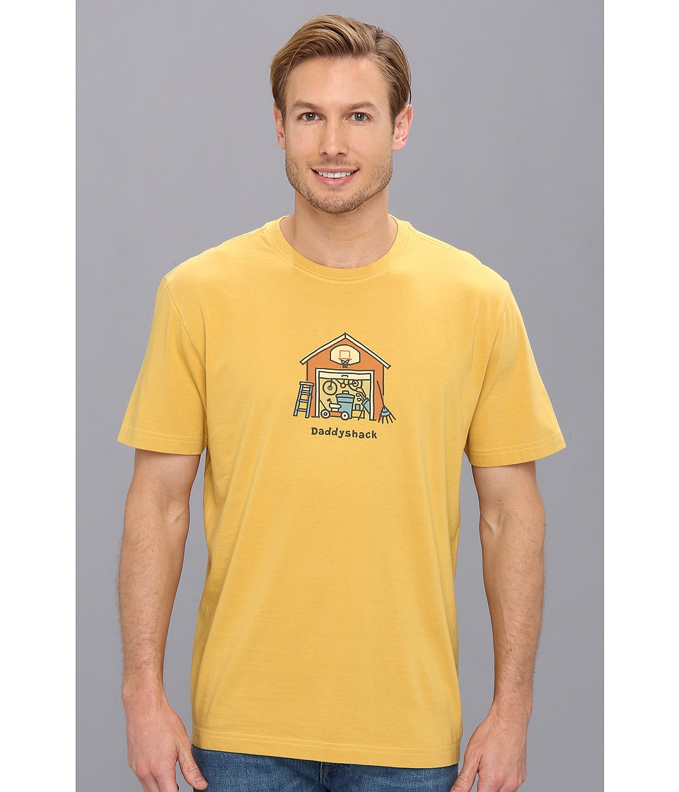 Life is good - Daddyshack Crusher Tee (Summer Gold) Men's T Shirt