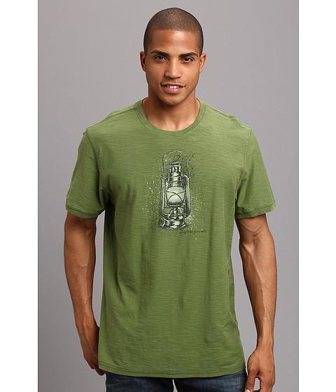 Life is good - Organic Rambler Crew Tee (Grassy Green) Men