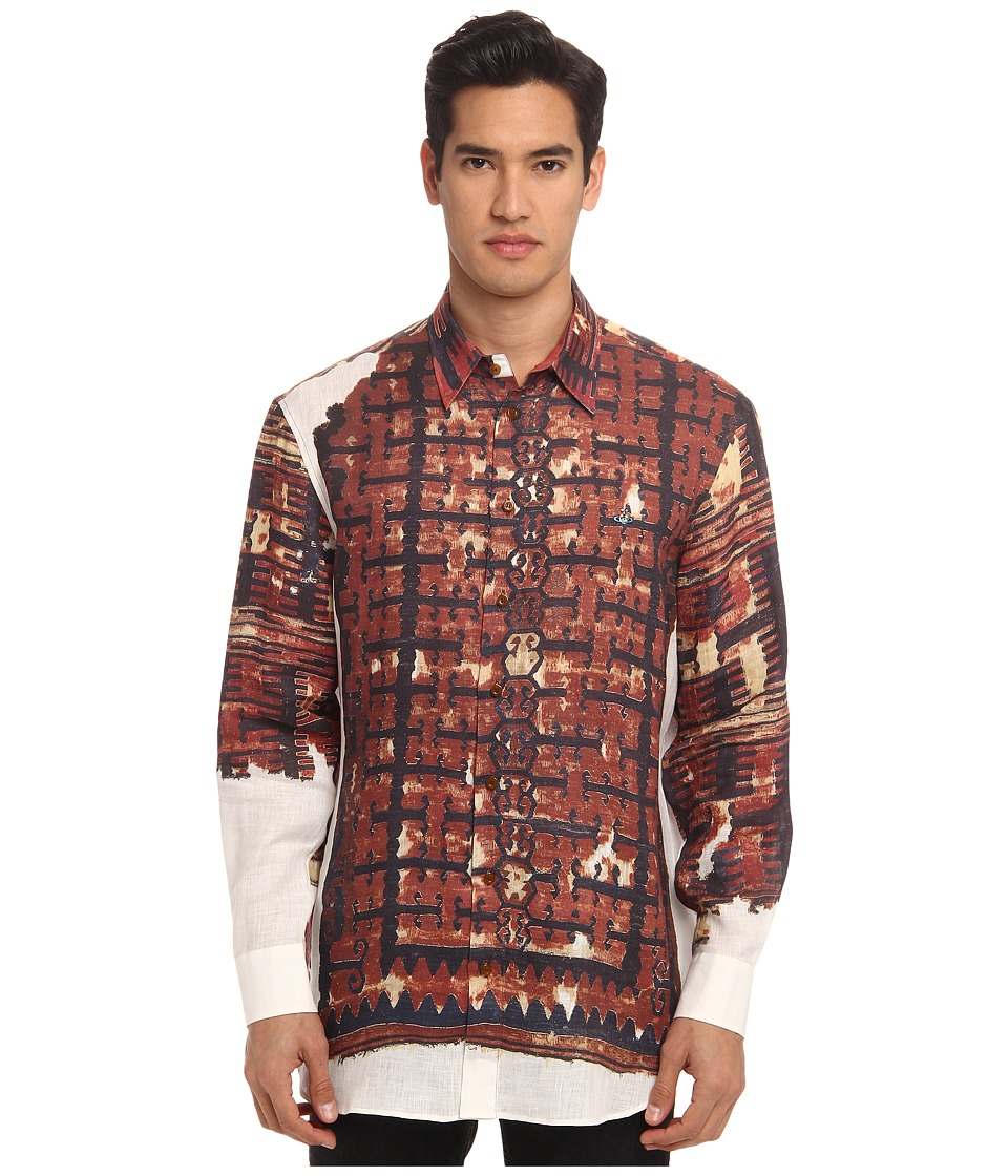 Vivienne Westwood MAN - Kelim Button Up (Multi) Men's Clothing