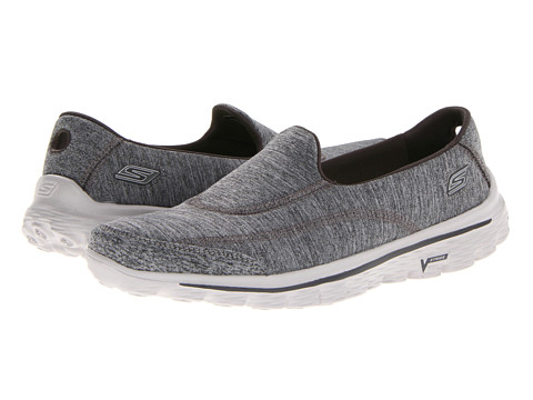 SKECHERS Performance - GoWalk 2 - Circuit (Gray) Women