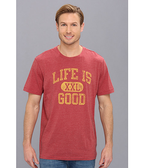 Life is good - Cool Tee 2 (Barnyard Red) Men's T Shirt