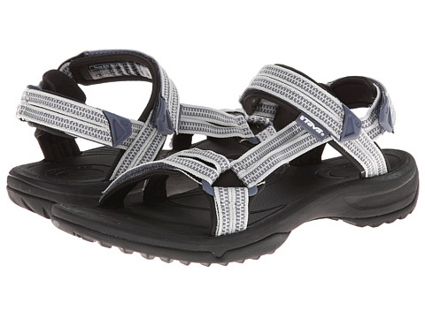 Teva - Terra Fi Lite (Double Zipper Grey) Women's Sandals