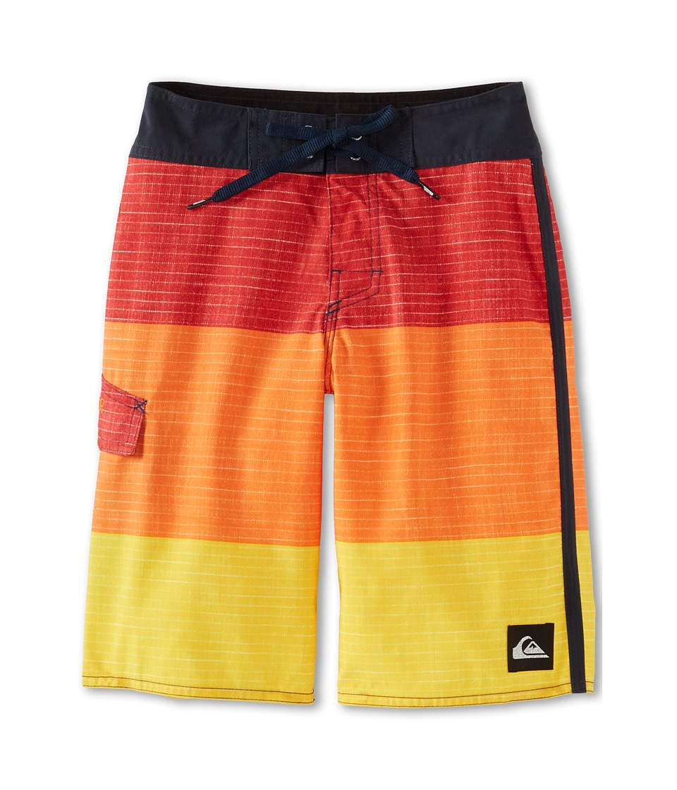 Quiksilver Kids Sliced Boardshort Boys Swimwear (Multi)