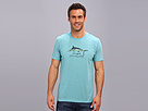 Life is good Cool Tee 2 (Turquoise Blue 2)