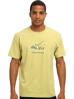 SALE! $16.99 - Save $9 on Life is good Reserved Seating Crusher Tee (Meadow Green) Apparel - 34.65% OFF $26.00