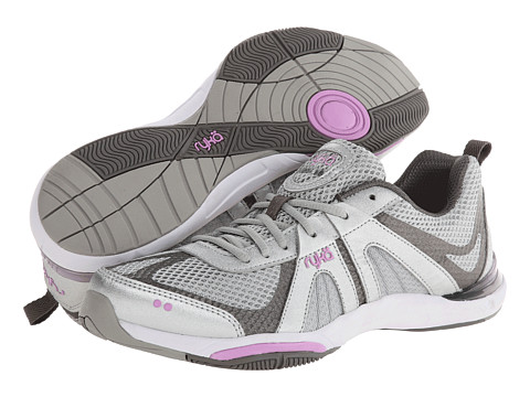 Ryka - Moxie (Chrome Silver/Metallic Steel Grey/Fairy Lavender) Women