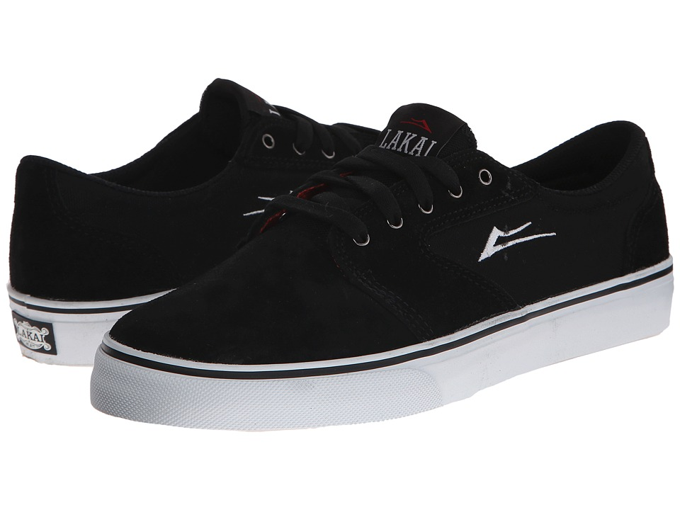 Lakai - Fura (Black Suede) Men's Skate Shoes