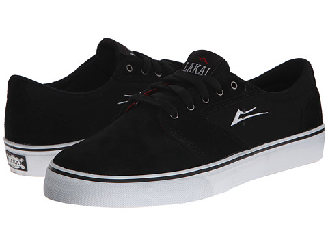 Lakai - Fura (Black Suede) Men's Skate Shoes
