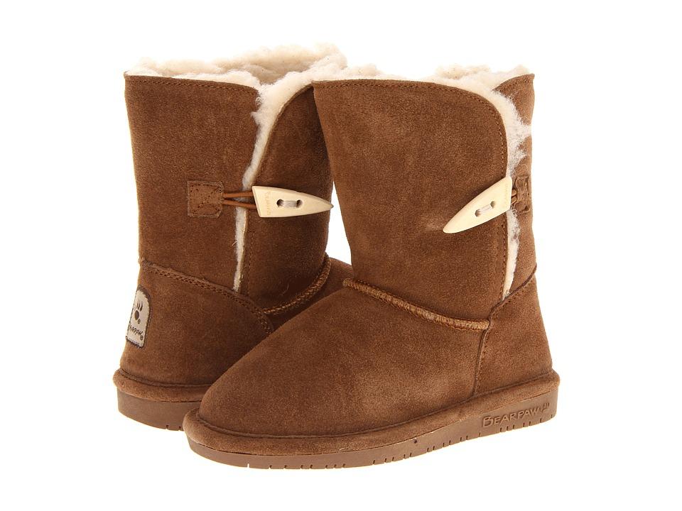 Bearpaw Kids - Abigail (Toddler) (Hickory 2) Girls Shoes