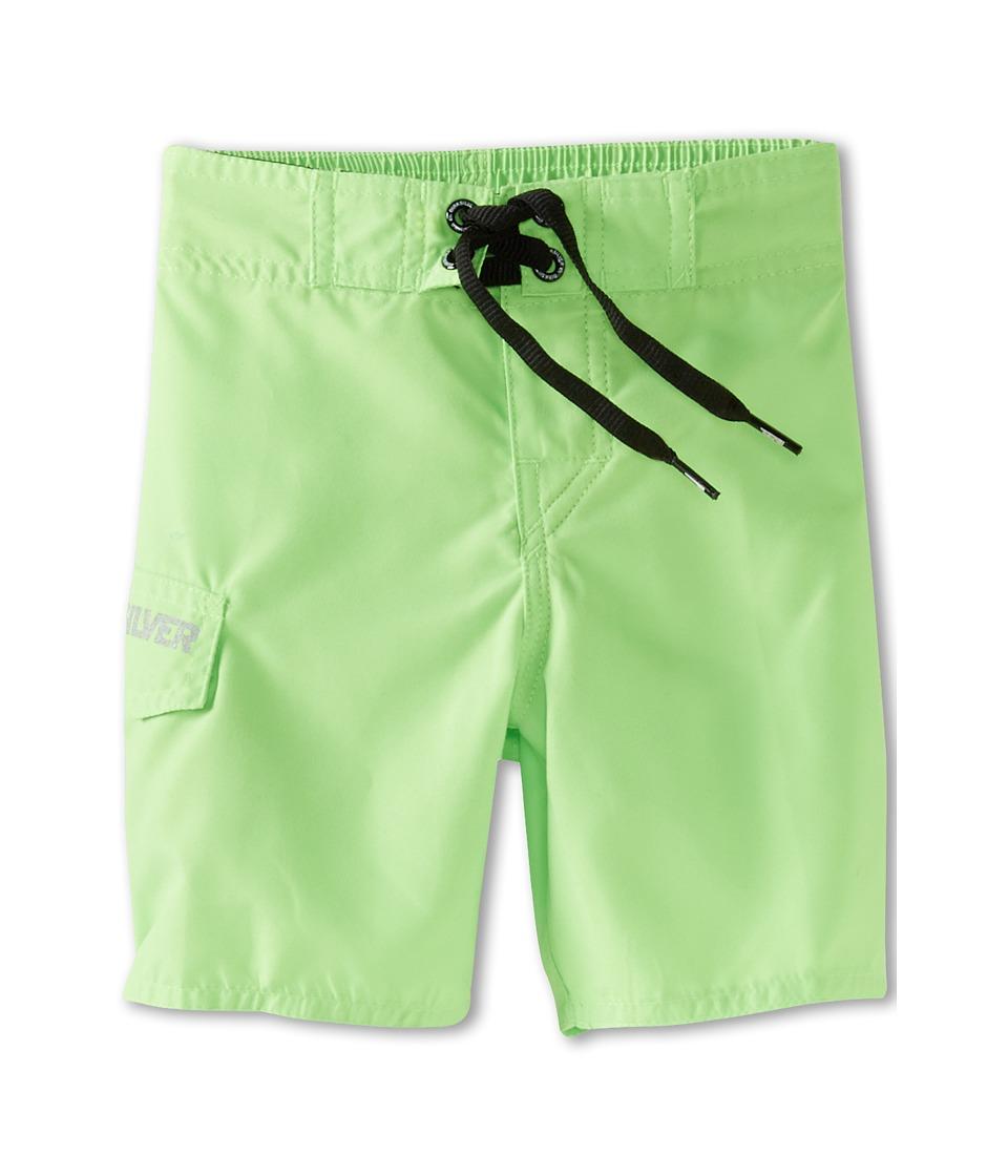Quiksilver Kids Stomping Boardshort Boys Swimwear (Green)
