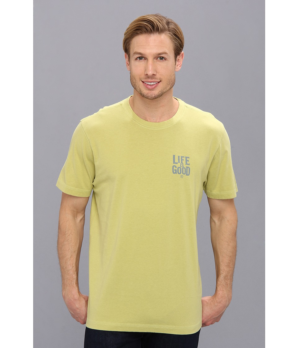 Life is good - LIG Creamy Tee (Meadow Green) Men's T Shirt