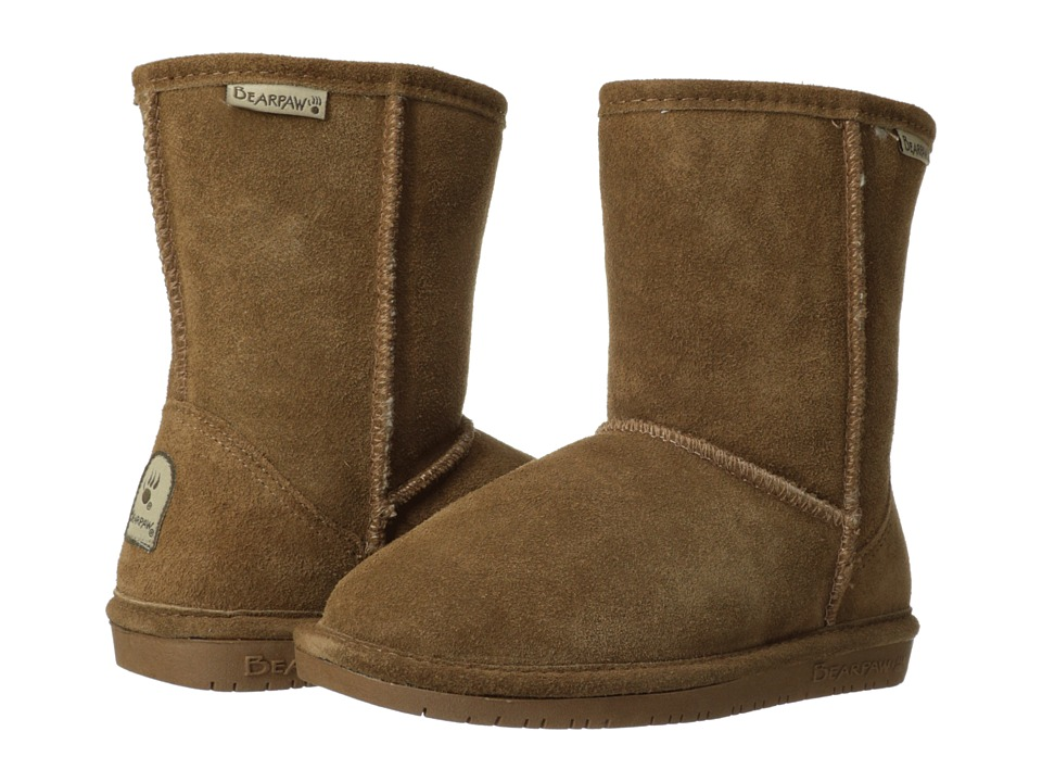 Bearpaw Kids - Emma (Little Kid/Big Kid) (Hickory II) Girls Shoes