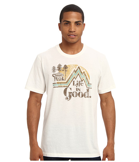 Life is good - Cool Tee 2 (Simply Ivory 3) Men's T Shirt