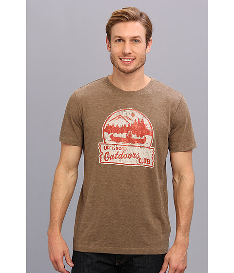 Life is good - Cool Tee 2 (Nutty Brown 2) Men