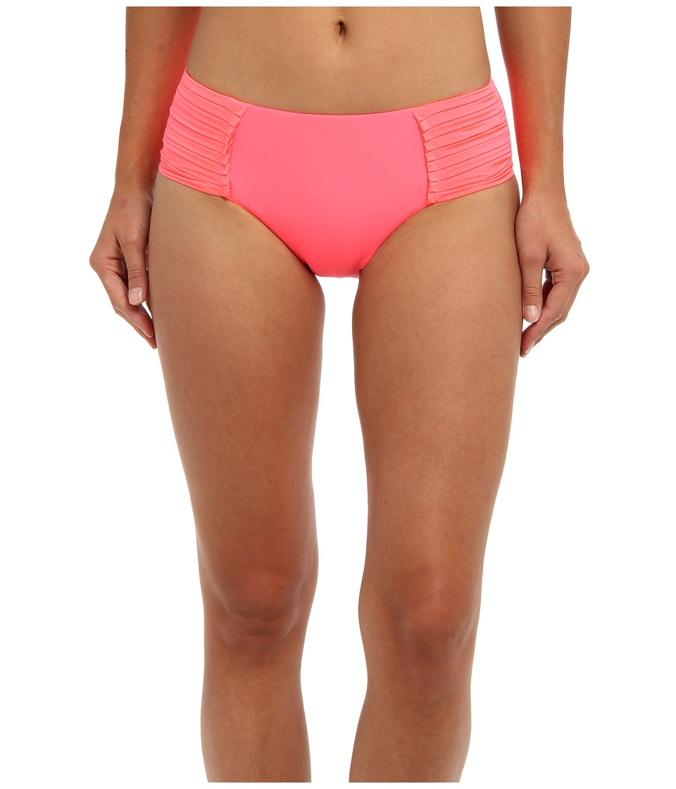 Seafolly - Pleated Retro Bottom (Red Hot) Women's Swimwear