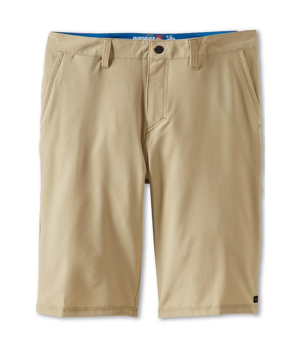Quiksilver Kids F.A.A. Short Boys Shorts (Brown)