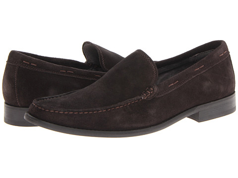 John Varvatos - Sid Loafer (Espresso) Men's Slip-on Dress Shoes