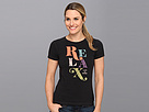 Life is good LIG Creamy Tee (Night Black) Women's Short Sleeve Pullover