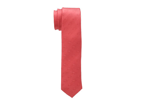 Moods of Norway - Tractor Fields Jorgen Silk Tie (Coral Red) Ties