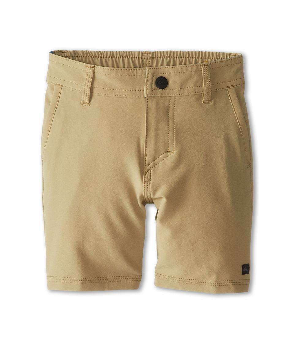 Quiksilver Kids F.A.A. Short Boys Swimwear (Brown)