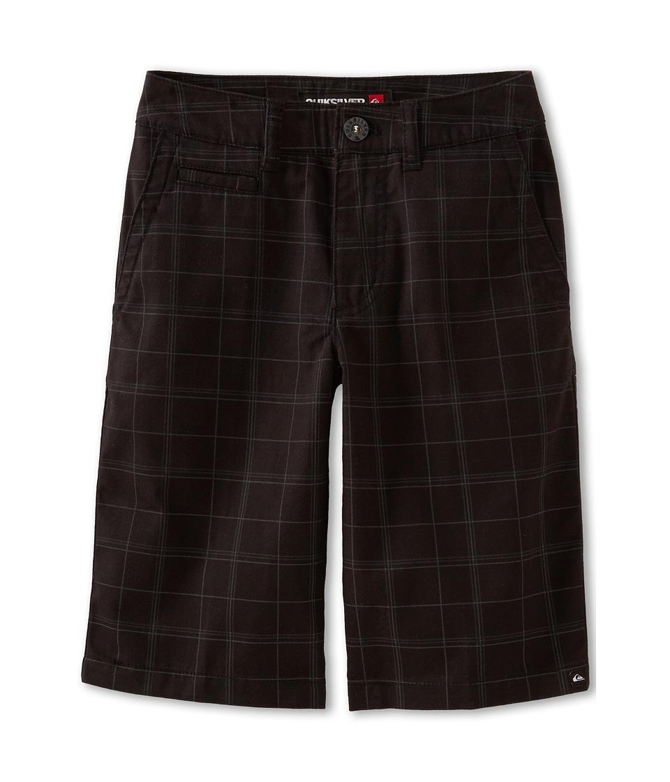 Quiksilver Kids Union Surplus Walkshort Boys Shorts (Black)