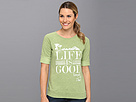 Life is good Seaside Roll-Up Sweatshirt