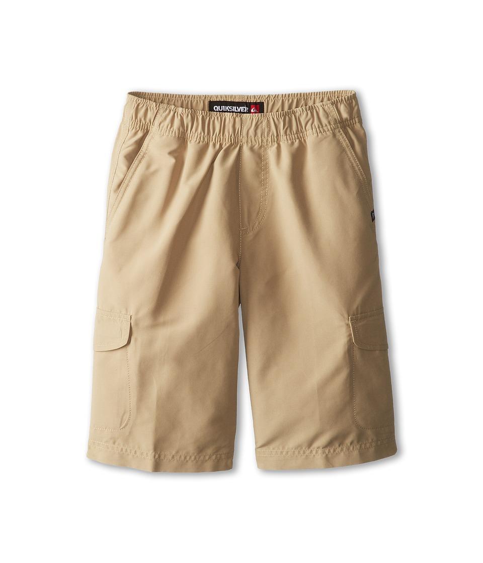 Quiksilver Kids Trooper Walkshort Boys Shorts (Brown)