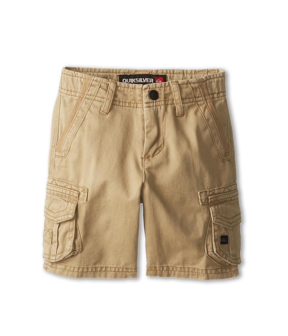 Quiksilver Kids Deluxe Walkshort Boys Shorts (Khaki)