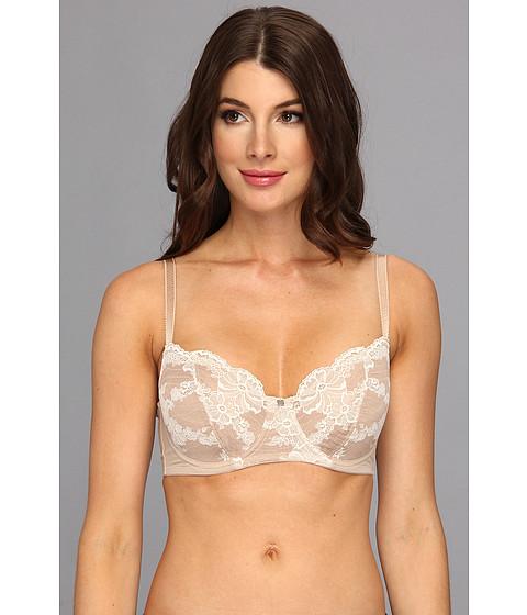 Natori - N Natori Elegant Effect Cut Sew Underwire Bra 1334118 (Cafe/Ivory) Women's Bra