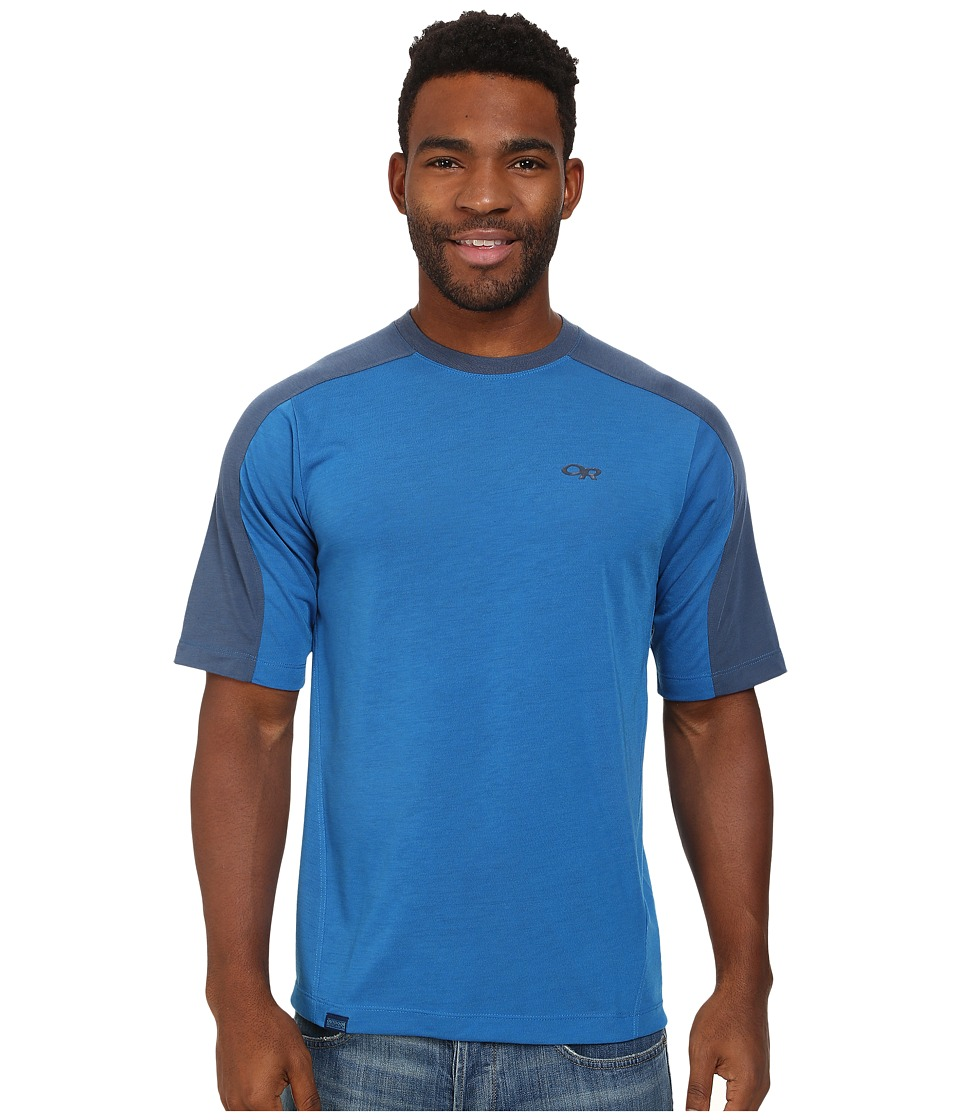 Outdoor Research - Sequence Duo Tee (Glacier/Dusk) Men's T Shirt
