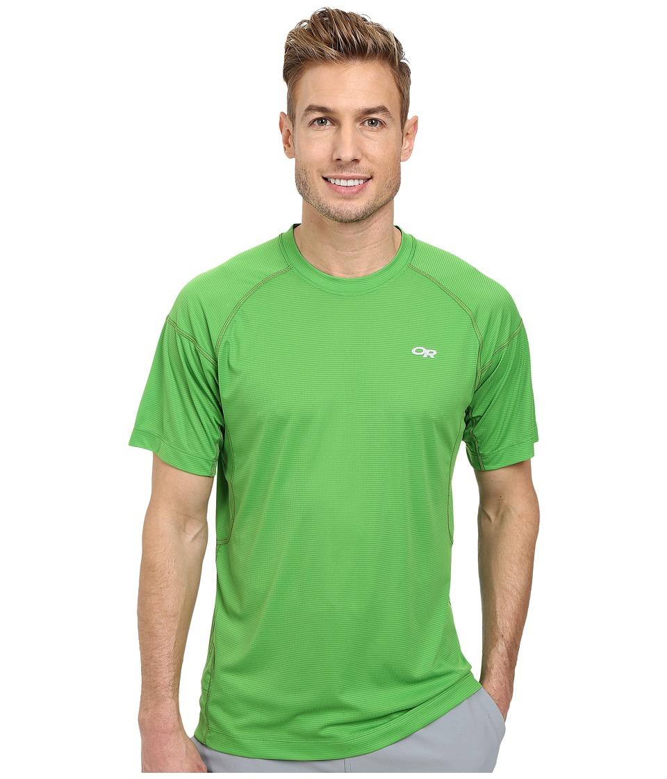 Outdoor Research - Echo Tee (Flash/Lemongrass) Men's Short Sleeve Pullover