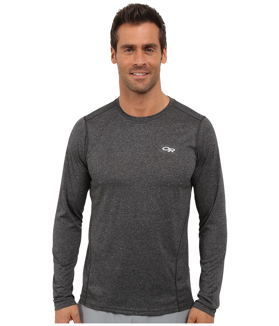 Outdoor Research - Ignitor L/S Tee (Charcoal) Men's T Shirt