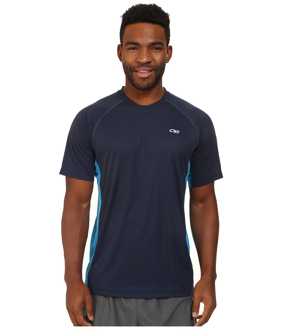 Outdoor Research - Echo Duo Tee (Night/Hydro) Men's Short Sleeve Pullover