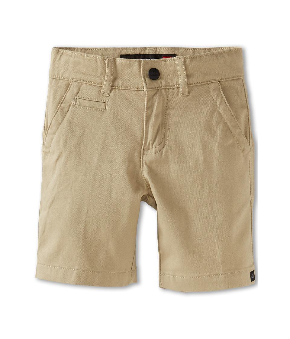 Quiksilver Kids Union Walkshort Boys Shorts (Brown)