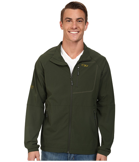 Outdoor Research - Ferrosi Jacket (Evergreen) Men's Coat