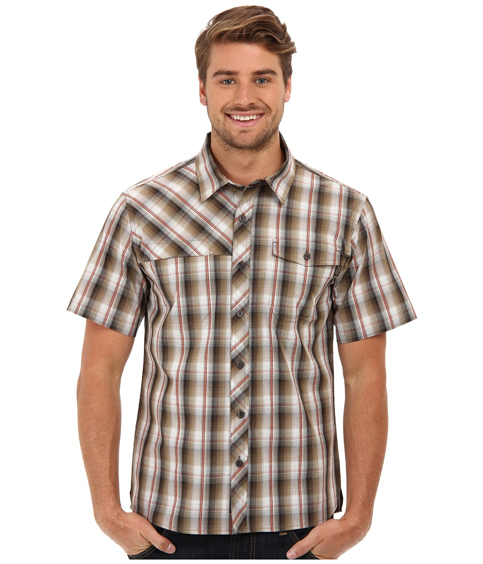 Outdoor Research - Riff S/S Shirt (Earth/Caf ) Men's Short Sleeve Button Up